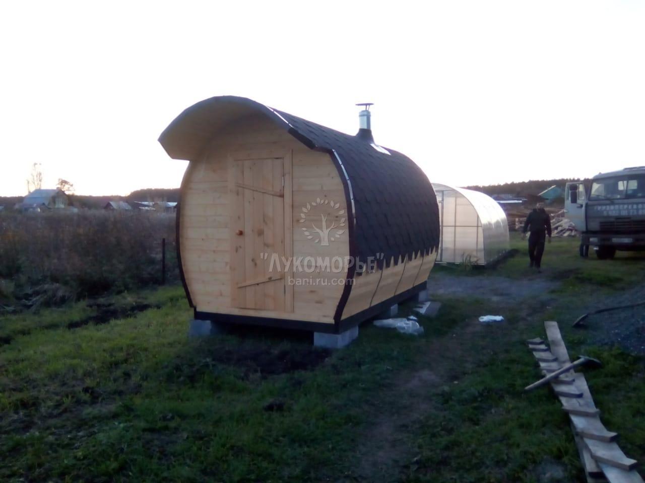 купить мобильную баню в курганской области